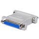 DB25, F/F, Null Modem Adapter