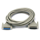 15ft DB25 Male-to-Female Serial Extension Cable