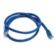 Cat6 24AWG UTP Ethernet Network Patch Cable, 3ft Blue