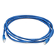 Cat6 24AWG UTP Ethernet Network Patch Cable, 7ft Blue