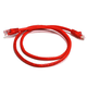 Cat5e 24AWG UTP Ethernet Network Patch Cable, 3ft Red