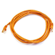 Cat5e 24AWG UTP Ethernet Network Patch Cable, 7ft Orange