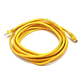 Cat5e 24AWG UTP Ethernet Network Patch Cable, 14ft Yellow