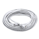 Cat6 24AWG UTP Ethernet Network Patch Cable, 50ft White