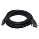 10ft 24AWG CL2 High Speed HDMI to DVI Adapter Cable w / Net Jacket - Black