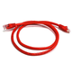 Cat6 24AWG UTP Ethernet Network Patch Cable, 3ft Red