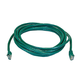 Cat6 24AWG UTP Ethernet Network Patch Cable, 14ft Green