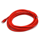 Cat6 24AWG UTP Ethernet Network Patch Cable, 14ft Red