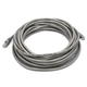 Cat6 24AWG UTP Ethernet Network Patch Cable, 25ft Gray