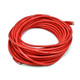 Cat6 24AWG UTP Ethernet Network Patch Cable, 50ft Red