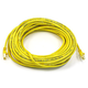 Cat6 24AWG UTP Ethernet Network Patch Cable, 50ft Yellow