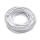 Cat6 24AWG UTP Ethernet Network Patch Cable, 100ft White