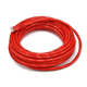 25FT 24AWG Cat6 500MHz Crossover Bare Copper Ethernet Network Cable - Red