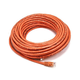 50FT 24AWG Cat6 500MHz Crossover Bare Copper Ethernet Network Cable - Orange