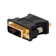 Monoprice DVI-A Dual Link Male to HD15(VGA) Female Adapter (Gold Plated)