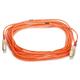 Fiber Optic Cable, SC/SC, OM1, Multi Mode, Duplex - 10 meter (62.5/125 Type) - Orange