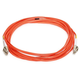 Fiber Optic Cable, LC/LC, OM1, Multi Mode, Duplex -  5 meter (62.5/125 Type) - Orange