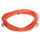 Fiber Optic Cable, LC/LC, OM1, Multi Mode, Duplex - 10 meter (62.5/125 Type) - Orange