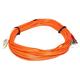 Fiber Optic Cable, LC/ST, OM1, Multi Mode, Duplex - 10 meter (62.5/125 Type) - Orange