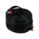100ft 22AWG 5-RCA Component Video/Audio Coaxial Cable (RG-59/U) - Black