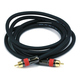 6ft High-quality Coaxial Audio/Video RCA CL2 Rated Cable - RG6/U 75ohm (for S/PDIF, Digital Coax, Subwoofer & Composite Video)
