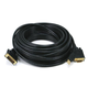 Monoprice 50ft 28AWG VGA & USB (A Type) to M1-D (P&D) Cable - Black