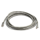 Cat5e 24AWG UTP Ethernet Network Patch Cable, 10ft Gray