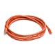 Cat5e 24AWG UTP Ethernet Network Patch Cable, 10ft Orange