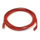 Cat5e 24AWG UTP Ethernet Network Patch Cable, 10ft Red
