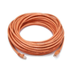 Cat6 24AWG UTP Ethernet Network Patch Cable, 50ft Orange
