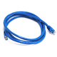 Cat6 24AWG UTP Ethernet Network Patch Cable, 5ft Blue