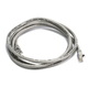 Cat6 24AWG UTP Ethernet Network Patch Cable, 5ft Gray