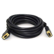 15ft Super VGA M/F CL2 Rated (For In-Wall Installation) Cable w/ Ferrites (Gold Plated)