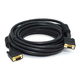 25ft Super VGA M/F CL2 Rated (For In-Wall Installation) Cable w/ Ferrites (Gold Plated)