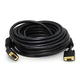 35ft Super VGA M/F CL2 Rated (For In-Wall Installation) Cable w/ Ferrites (Gold Plated)