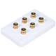 High Quality Banana Binding Post Wall Plate for 3 Speaker - Coupler Type
