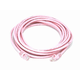 Cat5e 24AWG UTP Ethernet Network Patch Cable, 14ft Pink