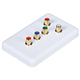 5 RCA Component Wall Plate (RGB + Audio) - Coupler Type