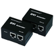 DVI Extender using Cat5e cable extending upto 50 Meter, Supporting DDC & HDCP