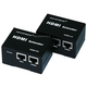 HDMI Extender using Cat5e/ CAT6 cable extending upto 50 Meter, Supporting DDC & HDCP