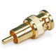 BNC Male to RCA Male Adaptor - Gold Plated