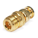 BNC Male to N Female Adapter - Gold Plated