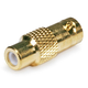 Monoprice BNC Female to RCA Female Adapter - Gold Plated
