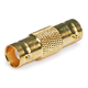 BNC Female to Female Coupler - Gold Plated
