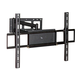 Corner Friendly, Full-Motion TV Wall Mount Bracket (Max 110 lbs, 37 - 70 inch)