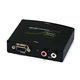 Monoprice VGA & R/L Stereo Audio to HDMI Converter with DC Adapter