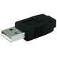 USB 2.0 A Male to Mini 5 pin (B5) Female Adapter