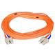 Fiber Optic Cable, SC/SC, Multi Mode, Duplex - 15 meter (62.5/125 Type) - Orange