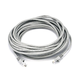 Cat5e 24AWG UTP Ethernet Network Patch Cable, 30ft Gray