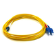 Fiber Optic Cable, LC/SC, Single Mode, Duplex - 5 meter (9/125 Type) - Yellow